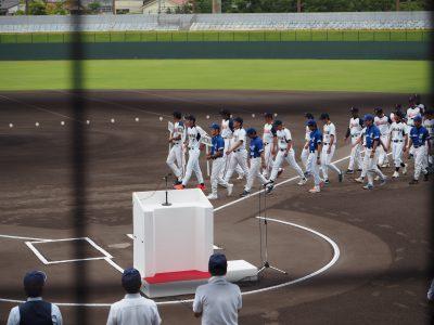 建設界野球大会に参加してきました。