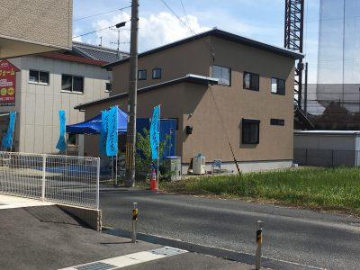 外壁塗り壁の家見学会 開催中 滋賀県草津市片岡町にて