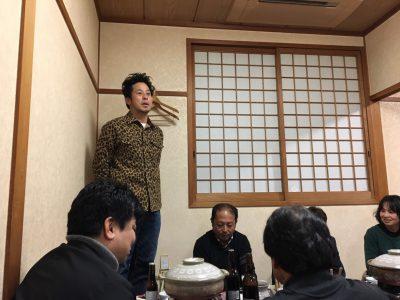 業者会新年会に参加してきました。