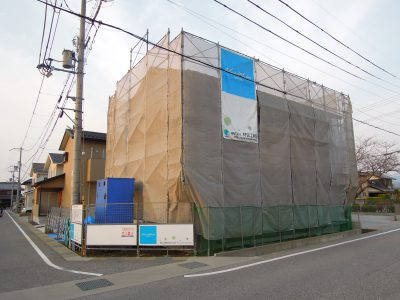 新長浜モデルハウス Sto外壁塗り壁工法