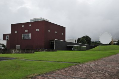 建築探訪 奈義町現代美術館