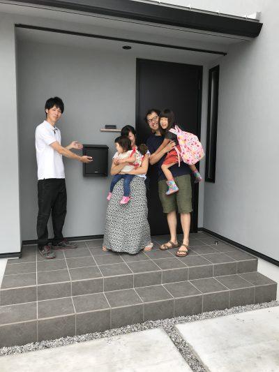 大辰巳町モデルハウス 引き渡し